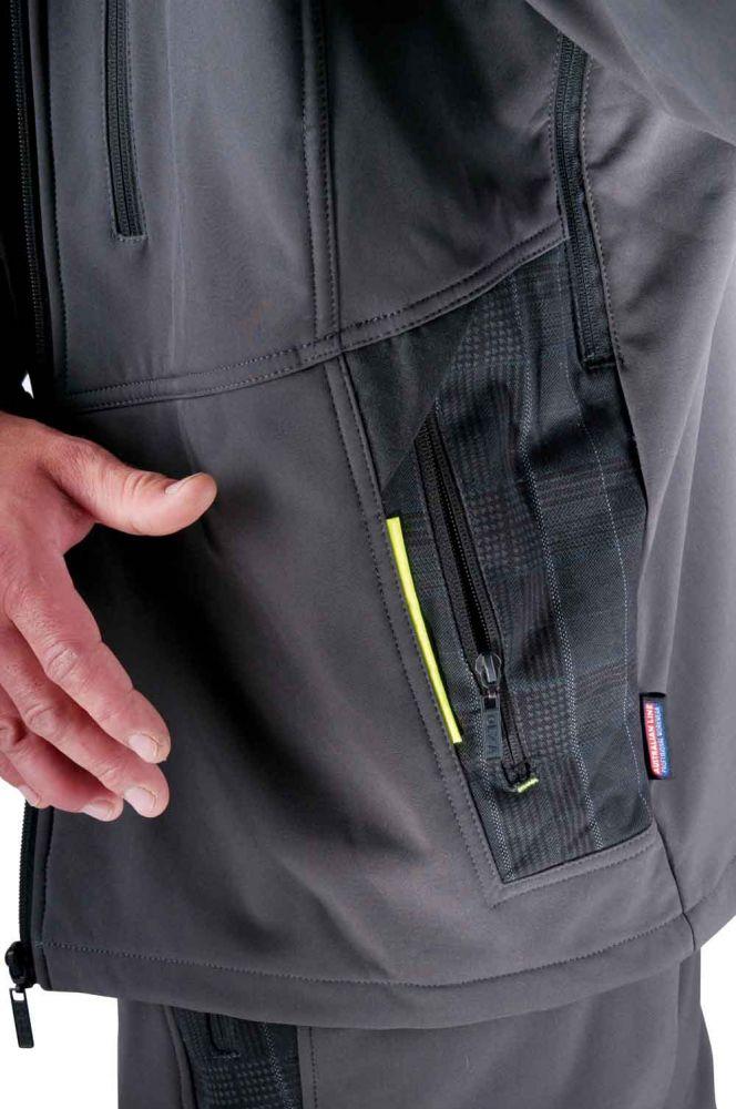 OLZA SOFTSHELL dzseki - munkavédelmi kabát - safetyproducts.hu 5d88ba66a0